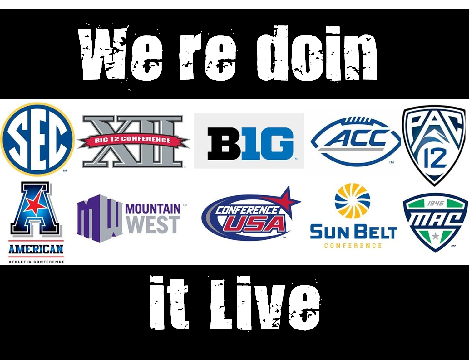 FBS Conference Logos