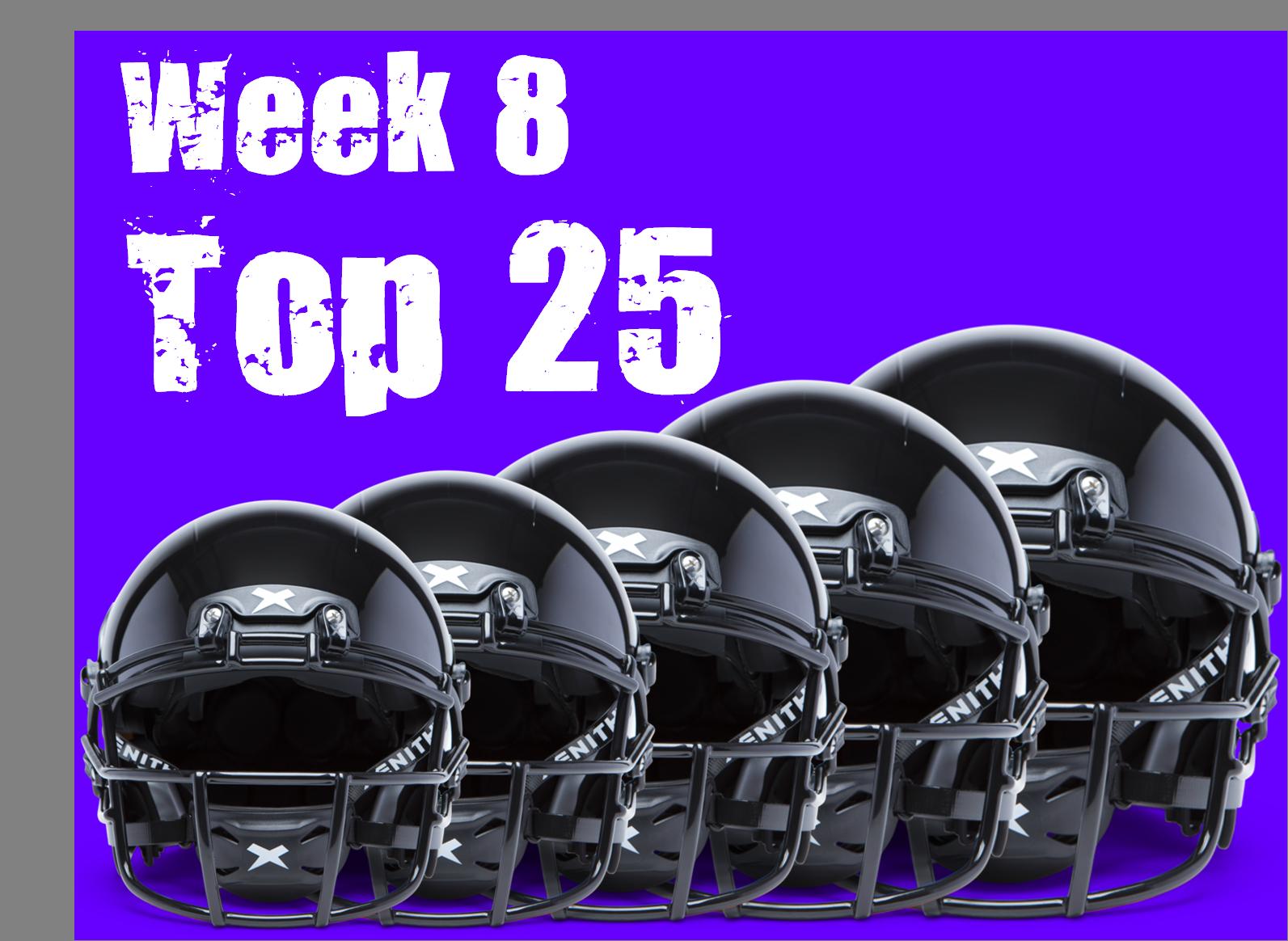 Week 8 FBS Top 25