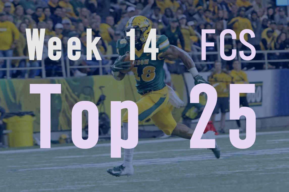 Week 14 FCS Top 25