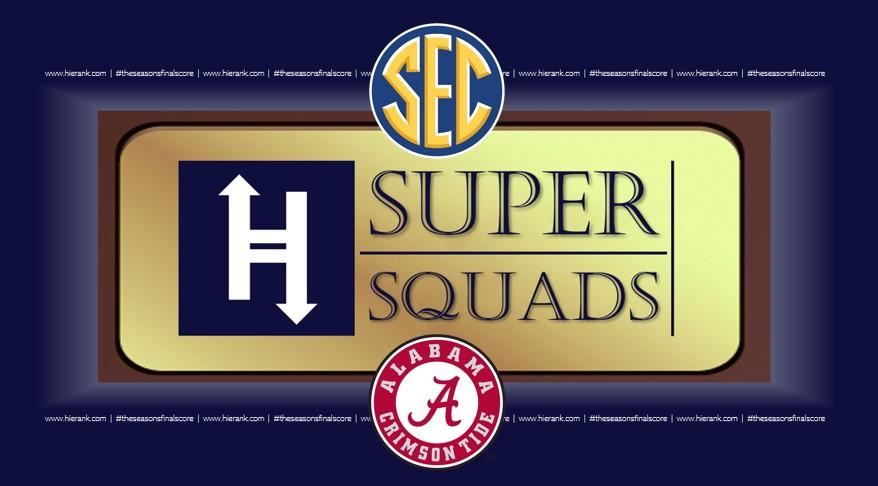 Ranking the SEC Football Programs in Recent Memory